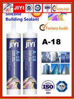 alibaba nertual silicone raw material for construction general caulking and bonding silicone sealant A18
