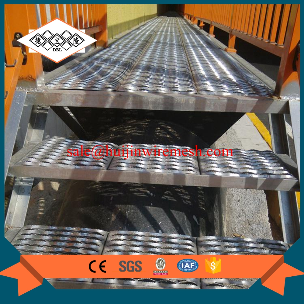 steel grid floor stair covers metalic