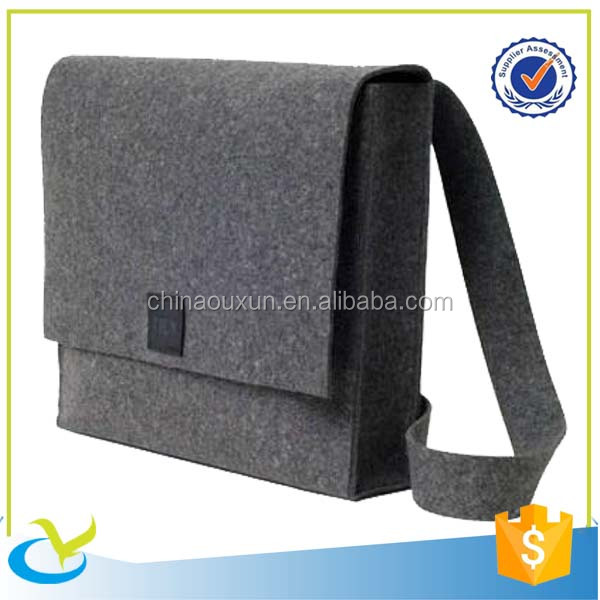 Hottest sale promotional felt laptop tote bag