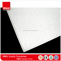 593x593mm 593x1193mm Acoustic Fine Fissured radar fitcase mineral fiber dropped ceiling board