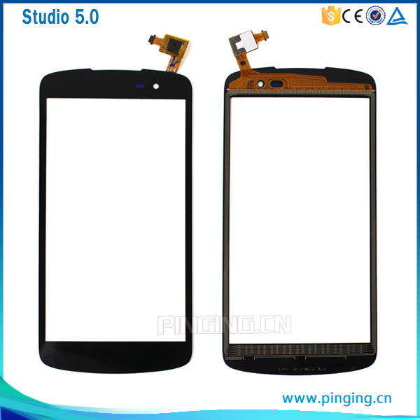 Cell phone spare parts touch screen digitizer glass panel for Blu studio x d750 touch screen