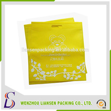 LS-NWD006 non-wowen tote bag,promotional tote bags,cheap wholesale custom printed non-woven shopper tote bags