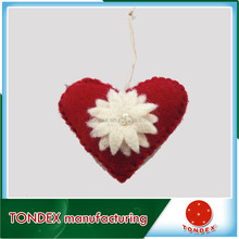 2016 factory price cute popular felt craft christmas ornament wholesale