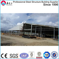 Steel Construction Real Estate Warehouse Workshop