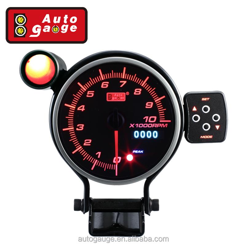 ADD TACHOMETER GAUGE  PEAK & WARNING shift light Car & Truck Parts