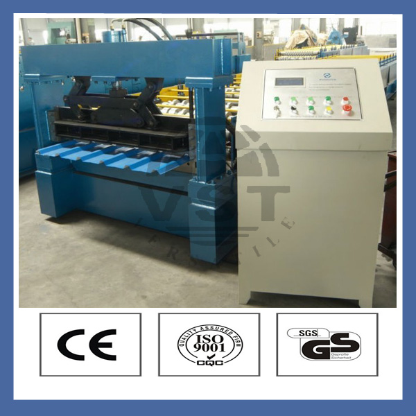 Iso and ce approved corrugated color steel manual sheet metal rolling machine