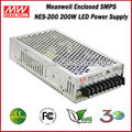 Mean well LED Driver NES-200-24 (200W 24V 8.8A) 200W Single Output Enclosed LED 24V SMPS Power Supply