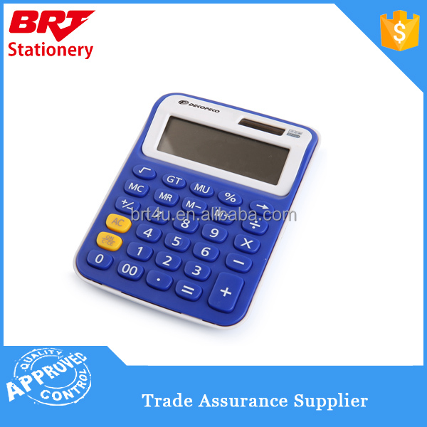 promotion gift 12 digits desktop cheap calculator