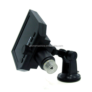 Electronic Repair Tool Portable Suction Cup 4.3 In Portable LCD Digital Microscope