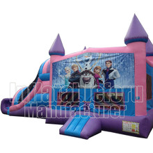 Frozen slide cheap used commercial inflatable bouncer for sale