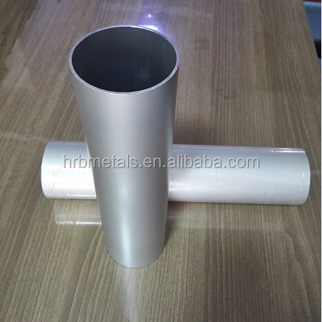 Custom Precision Alumium Extrusion Punching Bright Anodized Aluminium Pipes