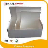 food grade take away foldable fried paper chicken wing boxes