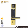 Door sensor lock with fingerprint password and rfid smart card