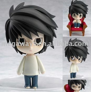 high quality japanese realisitc cartoon figure toy