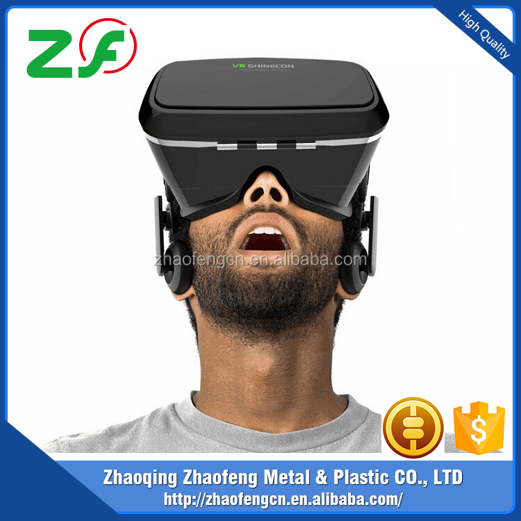 Promotional High Quality Real Virtual 3D oem vr headset for Promotion