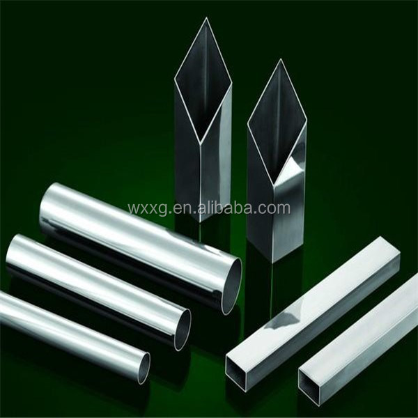 Wuxi Gold Supplier Mirror Polish seamless square 304 Stainless Steel pipe