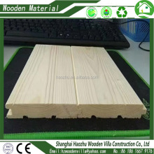 Solid wood pine wood timber house wall boards