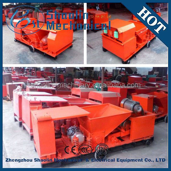 High density concrete hollow core slab extruder with low noise
