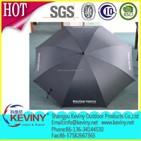 auto open high quality big custom advertisement golf umbrella windproof promotional umbrella OEM design by chinese factory