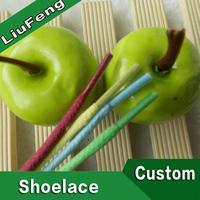 different style colorful elastic laces for shoes