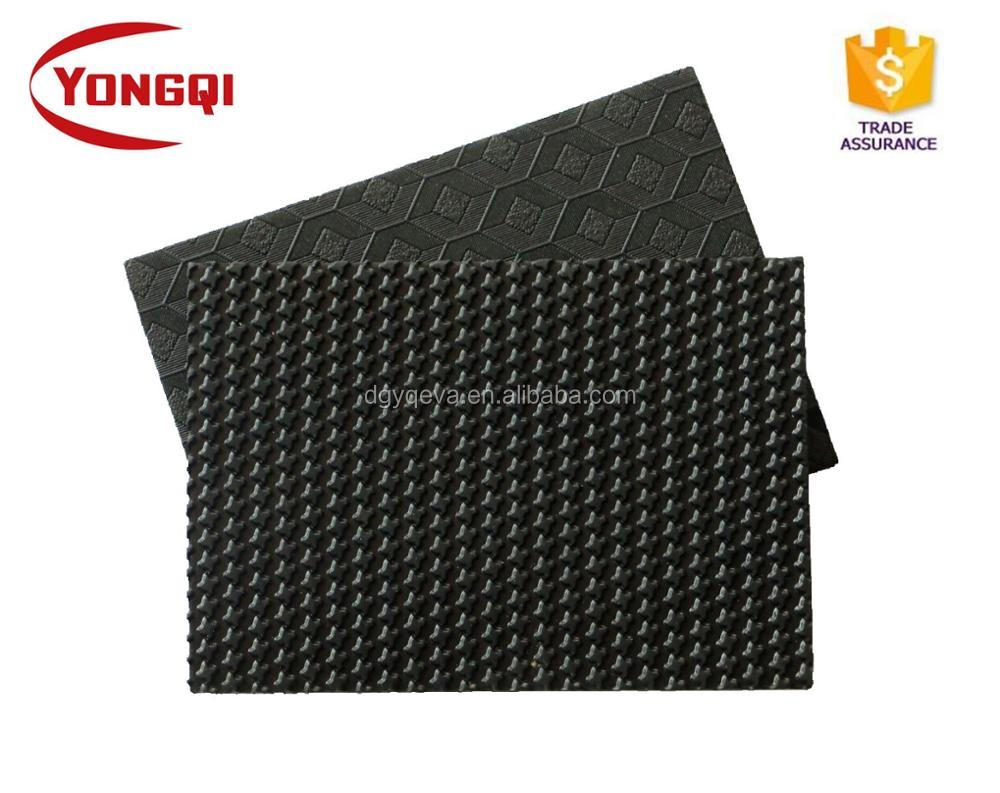 2020 Durable Rubber Sole For Ladies Shoes Making Material