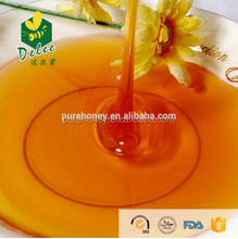 Yellow color pure polyflower honey for indian