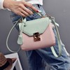 elegant ladies carry handbag discount leather hit the color side package