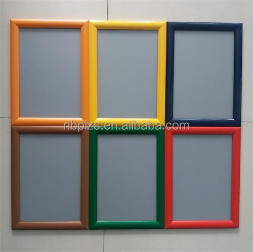 Customized sizes,aluminum snap <strong>frame</strong>,colorful clip <strong>frame</strong>,aluminum <strong>poster</strong> <strong>frame</strong> board b1