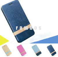 High Quality Fashion Design Holster Flip Voltage PU Leather Cases Cover for Sony Xperia E3