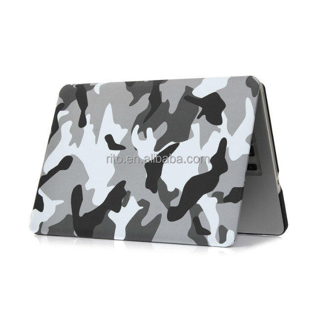Camouflage Laptop Case for MacBook Pro 13, For MacBook 13 inch Camouflage Pattern Case Cover
