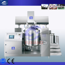 homogenizer vacuum jacket,food grade sanitary stainless steel vacuum mixer homogenizer