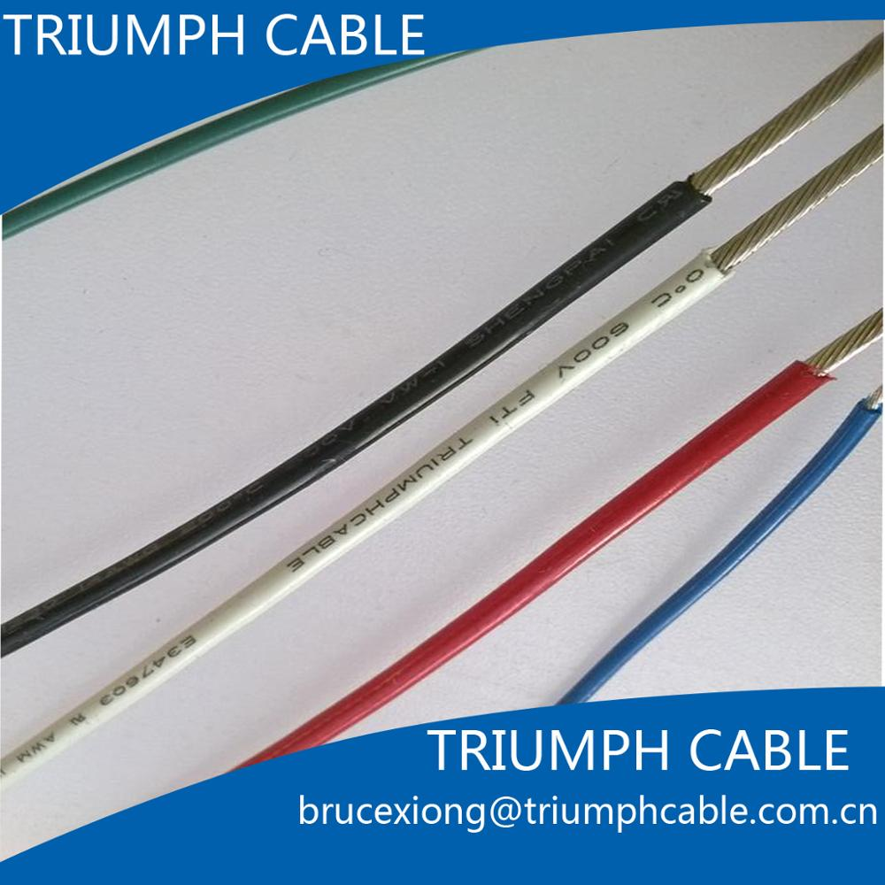 Ul10064 Teflon Coated Single Core Strands Copper Lead Wire - Buy ...