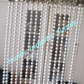 6mm Space Hanging White Metal Bead String Divider