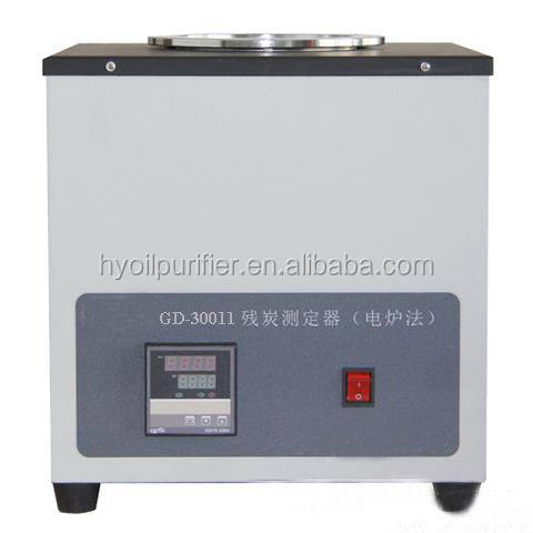 GD-30011 Gold Electric Furnace Method Carbon Residue Tester