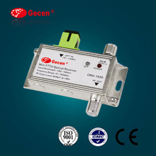 2016 gecen Mini FTTH Optical Receiver low noise GaAs amplifier active devices