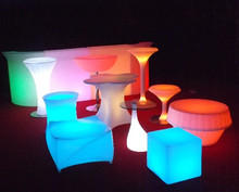 Multi color light LED bright design furniture for saloon, bar, pub swimming pool led strip lighting