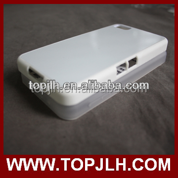 Factory printing Sublimation TPU case for Blackberry Z10
