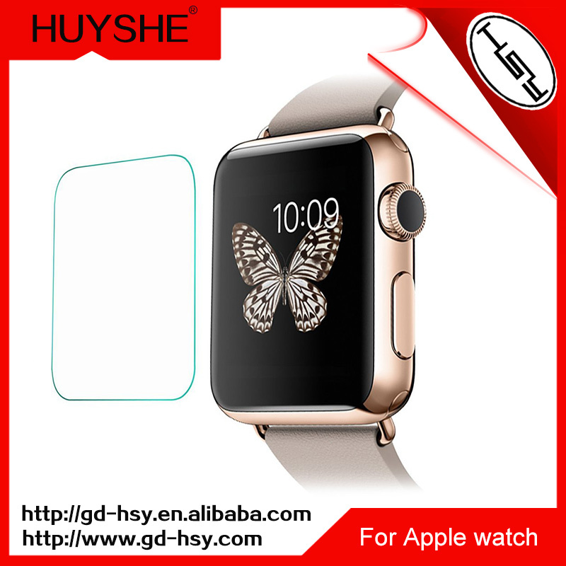 Touch screen glass film for apple watch glass projector for Apple projector price