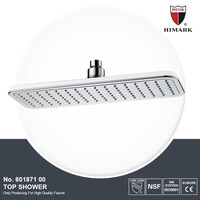 High quality ABS plastic recessed shower head