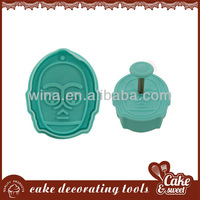Plastic monkey shape donut cutter cake decorating supplies