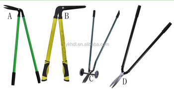 hand garden lawn edge grass pruning shear,pruner lopper hedge shear for cutting tool,