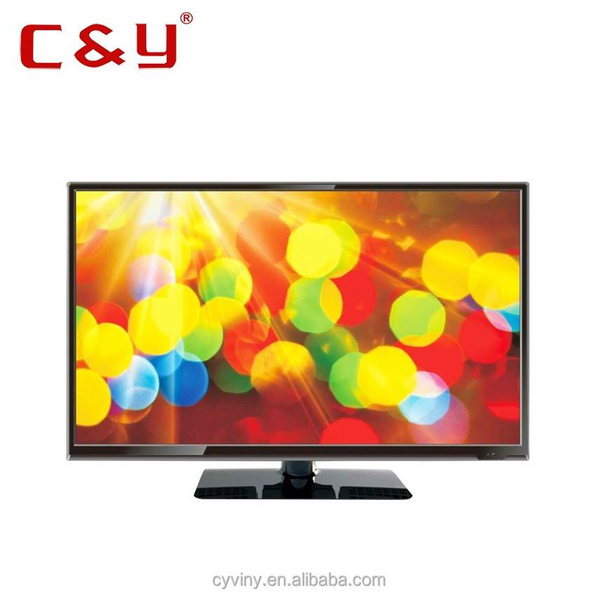C&Y 32 LED TV PANEL HD television Monitor tv DVB-S/ S2/T2 -BLACK