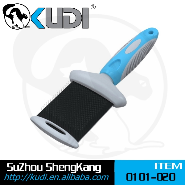 Flexible soft slikcer brush, Double side slicker brush, Pet hair brush
