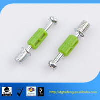 steel galvanized plated furniture cam lock dowel screw