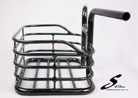 SEic Bicycle Accessory Black Handlebar with Basket
