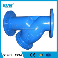 Cast iron Flanged end Y-strainer made in China