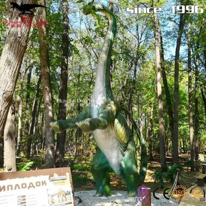 Amusement Park 3D Model Waterproof Animatronic Dinosaur