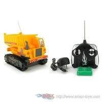 re-7103 Heavy Machine Tracked Mini Dump Truck Electric RTR RC Construction Vehicle