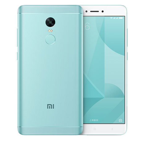 2017 New Arrival Xiaomi Redmi Note 4X Mobile Phone Qualcomm Snapdragon625 CPU MIUI8 OS Redmi Note4X 4GB RAM 64G Blue