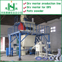 tile adhesive cement mixing plant,Dry mortar batching production machinery,Dry Mortar Mixing Plant